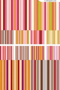 Editor s Choice section one hundred exquisite pattern material series Color bright line