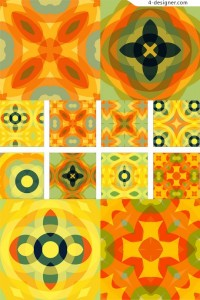 Editor s Choice section one hundred exquisite pattern material series moist and bright graphics