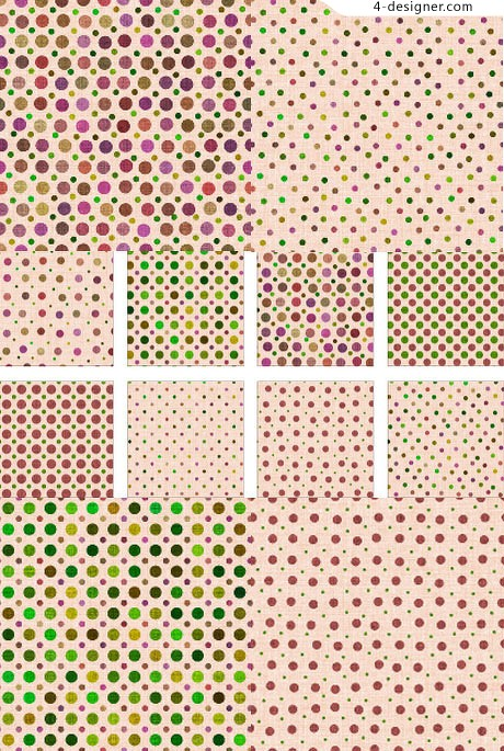 Editor s baikuan material series of exquisite designs simple colored dots texture