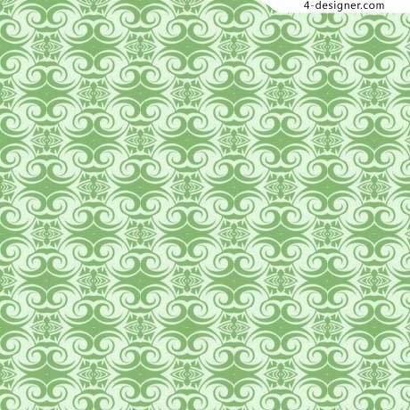 Green shape pattern texture