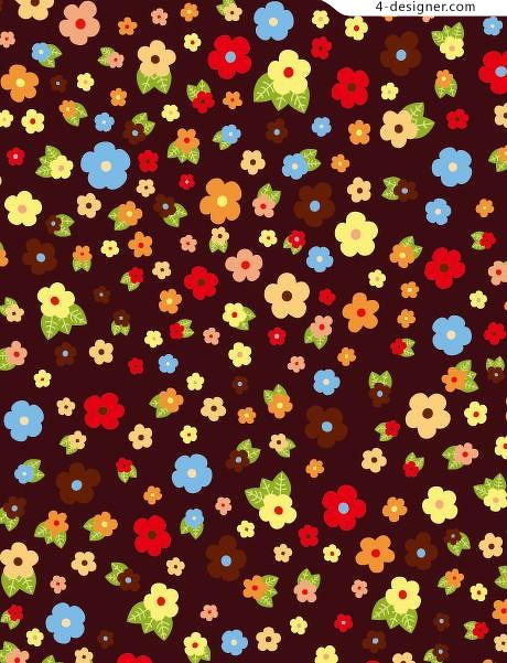 Multicolor pattern background pattern