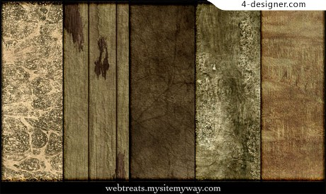 Old wood pattern material