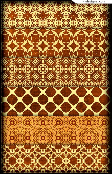 Pattern background pattern material 16