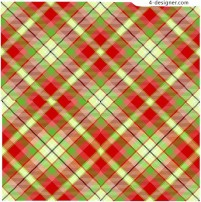 Plaid seamless color pattern material