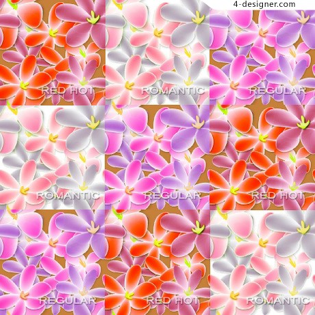 Red pattern background pattern material