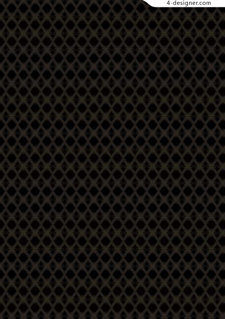 Vintage black checkered pattern texture