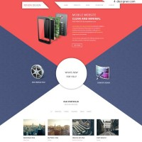 Exquisite web template