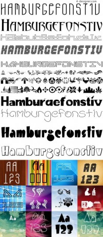Common personality English font 05