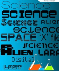 Fonts material science