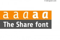 Share fonts