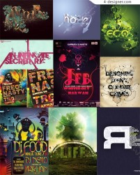 The most worthy collection of special effects font 02