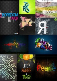 The most worthy collection of special effects font 05