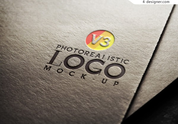 Foreign card brands proposal texture mapping texture template logo