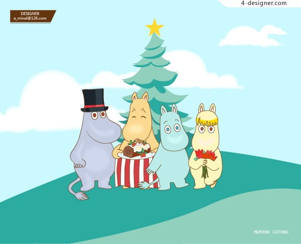 Moomin children