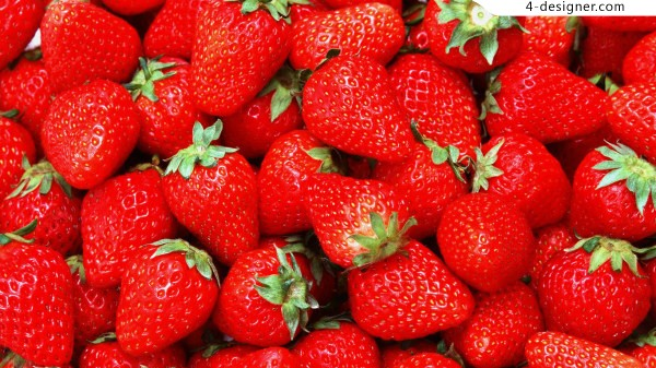 Red strawberries