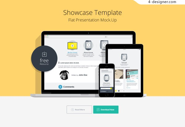 Template page impressions