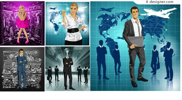 Business career character free download