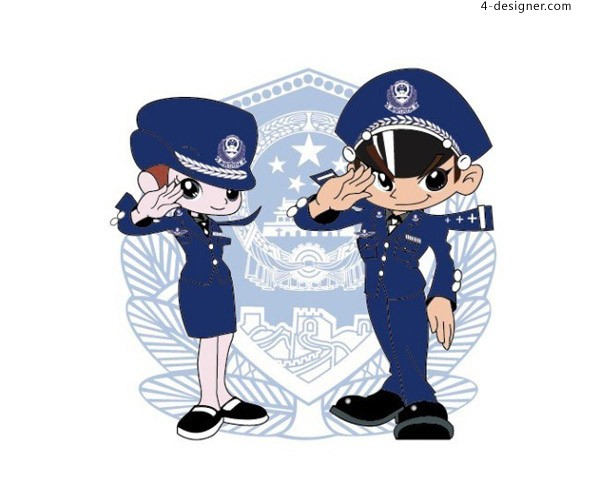 Cartoon people s police free download