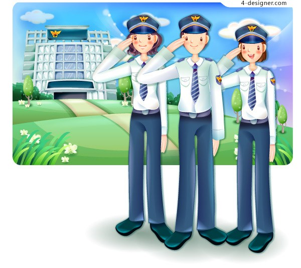 Cartoon police free download