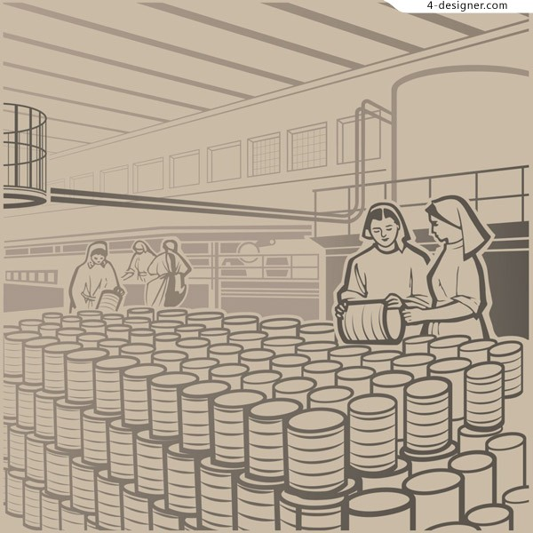 Free download of the factory workers
