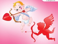 Lovely angel vector material angels