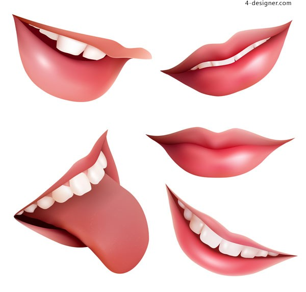 Mouth vector material