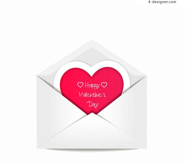 Envelopes and love vector material