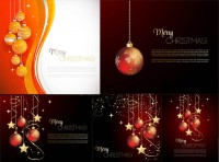 Christmas lob realistic texture effects and other vector material Free Download