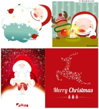 Christmas vector material