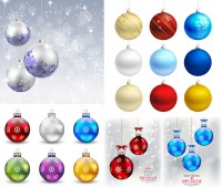 Dream Star with different styles of hanging ball vector material Free free download