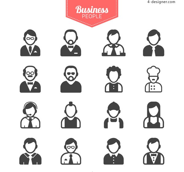 Business people icon