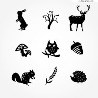 Flora and fauna icon