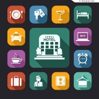 Hotels element icon