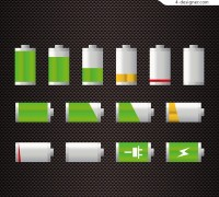 Mobile phone battery icon