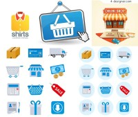 Shopping Theme Icons
