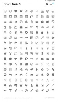 Classic icon 03 vector material