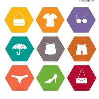 Clothing and accessories icon