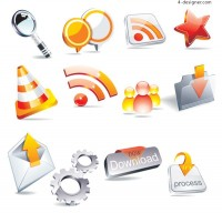 Crystal texture icon vector material