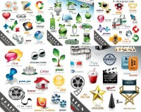 Design Elements and Icons vector material
