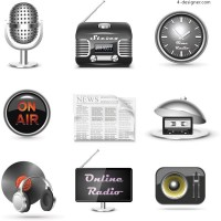 Sound Icon vector material