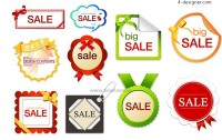 Sales discount tag