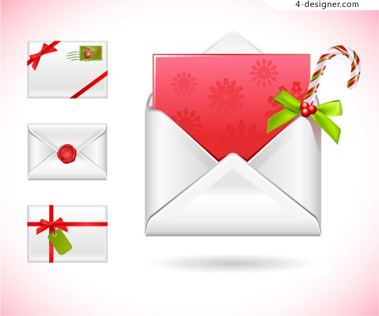 Christmas Mail vector material