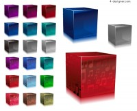 Cube vector material
