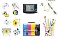Designers dedicated icon vector material