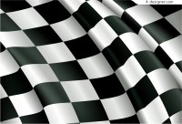 F1 Racing banner of local vector material