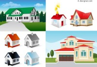House vector material