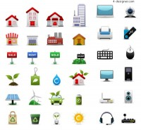 Icon vector material vector material