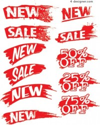 Ink sales discount vector material