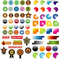 Practical decorative icon vector material