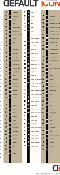 Practical graphical icons vector material
